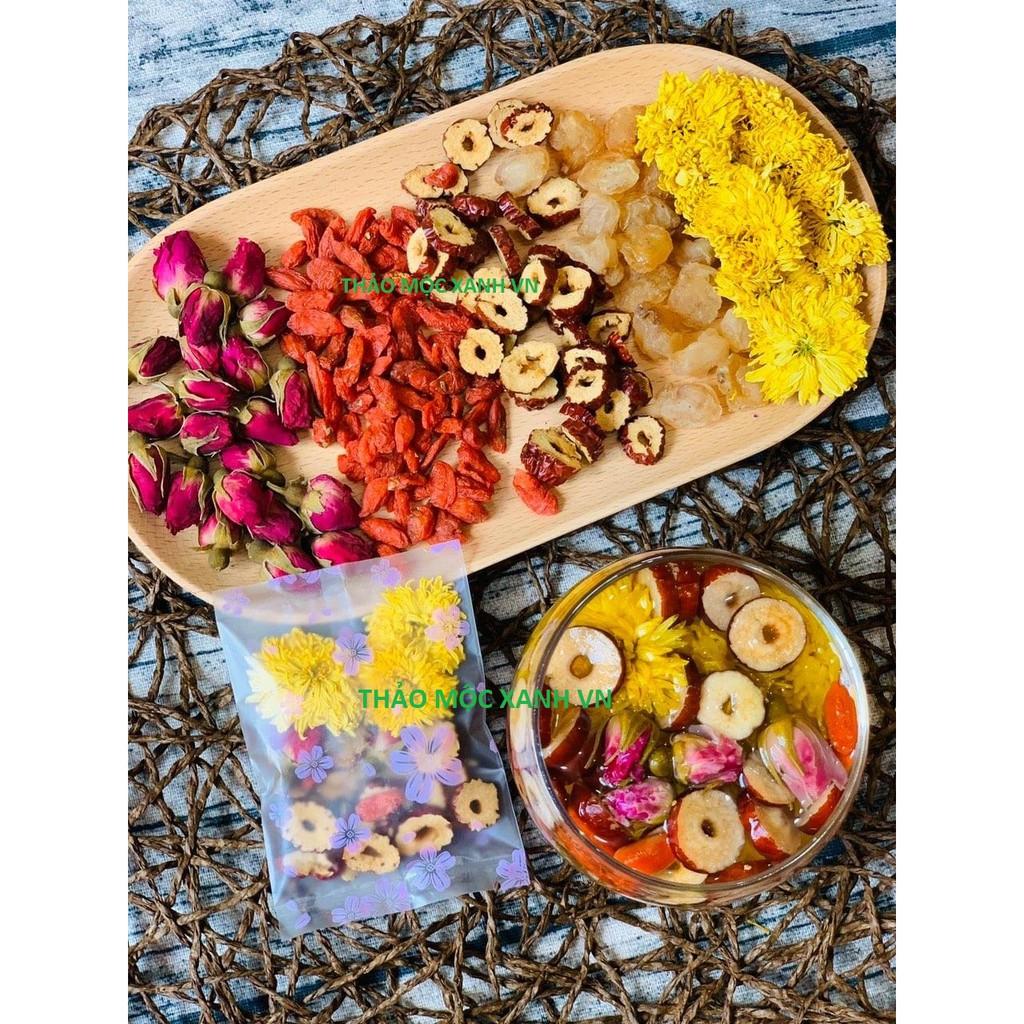 Trà hoa quả đẹp da an thần H1