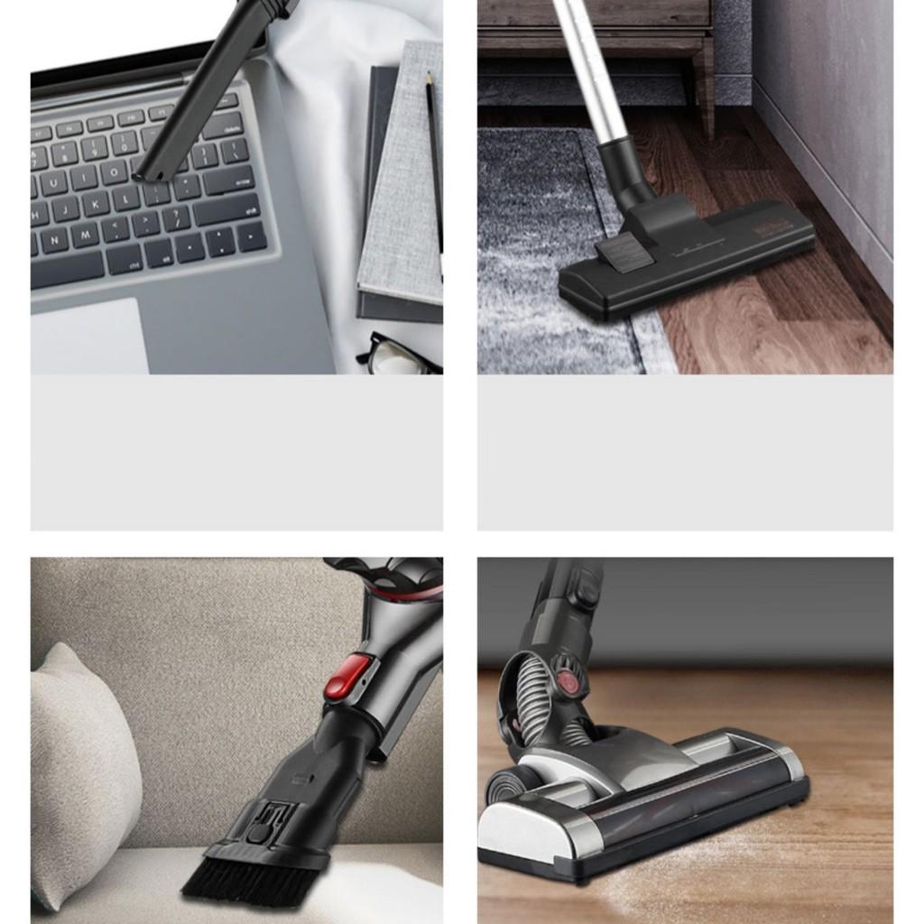 Máy hút bụi cầm tay không dây gia đình, công suất 200W, lực hút mạnh mẽ, loại sạch mọi bụi bẩn trong gia đình bạn