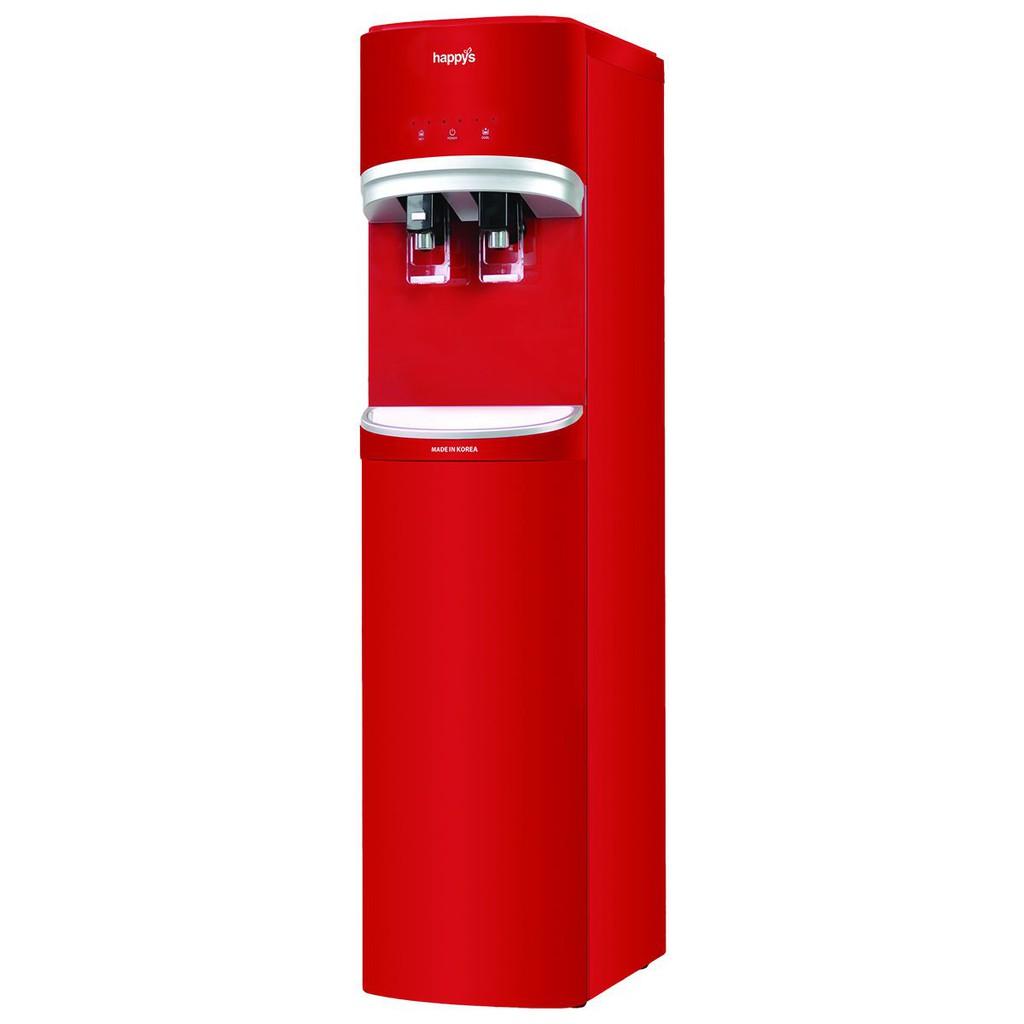 Máy lọc nước nóng lạnh Hàn Quốc 4 lõi 300W Happy Cook HB-680UF RED