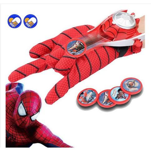 (SALE KỊCH SÀN) Trò chơi đồng hồ người nhện bắn ra đồng xu cho bé hoá thân thành các siêu nhân anh hùng có độ bền cao