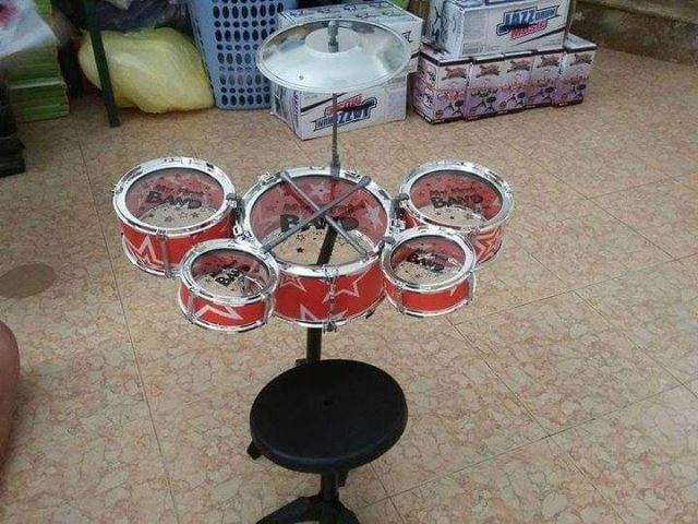 Trống đồ chơi Jazz Drum trẻ em