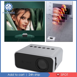 [KOOLSOO2] YT500 Mini Projector HD 1080P Home Theater Movie Projector Remote Control