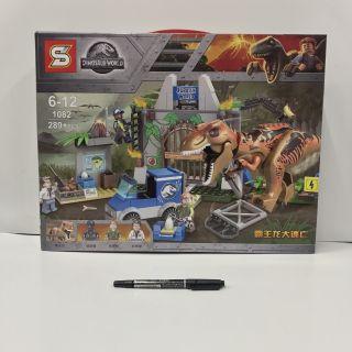 Lego SY 1082 Jurassic World T-RexCông Viên khủng long