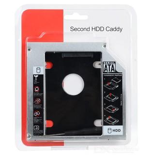 [Siêu rẻ] Caddy Bay SATA 3.0 9.5mm Gắn Thêm Ổ Cứng Cho Laptop