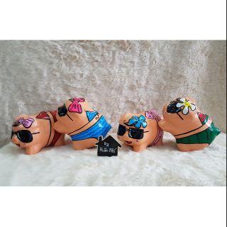 Heo đất handmade – bikini