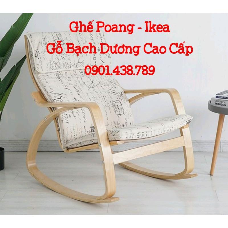 Ghế Thư Giãn Poang Cao Cấp - Rocking Chair Ikea