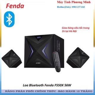 Loa Bluetooth Fenda F550X 56W Có khe Cắm USB và Thẻ Nhớ (USB, Bluetooth, SD) - Hàng Chính Hãng bảo hành 12 tháng