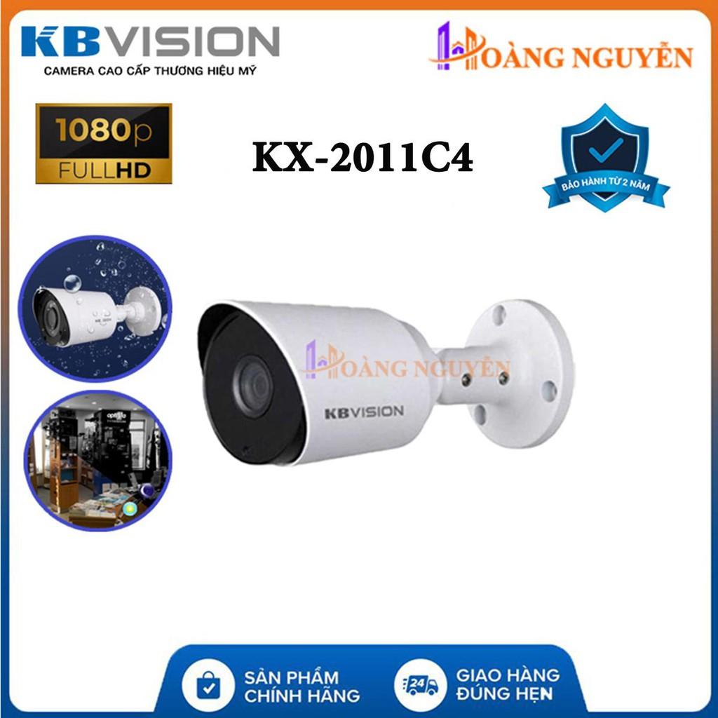 Camera Kbvision KX-2011C4 (2.0MP)  - Camera 4 in 1(CVI/TVI/AHD/Analog) - LED công nghệ mới SMD, Chống Ngược Sáng