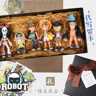 Bộ quà tặng One Piece – Băng hải tặc One Piece tặng kèm hộp, thiệp, túi xách