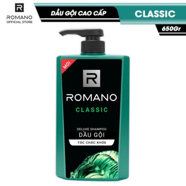 DẦu gội romano 650ml hoặc tắm