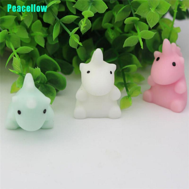 Peacellow Lovely Unicorn Starfish Squishy Stress Reliever Healing Toy Christmas Gift Decor