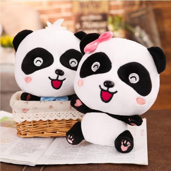 [XẢ HÀNG] Gấu bông Gấu trúc panda cho bé - Thú bông nhập khẩu cao cấp - Chiều cao 45cm...