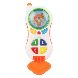 Baby Cell Phone Toy Educational Mobile with Sound and Light Child Call