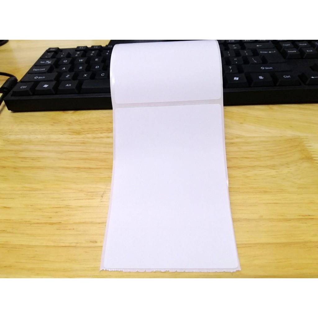 [SP HOT] Tem decal, giấy in nhiệt in vận đơn, tem in phiếu giao hàng khổ 70x100mm