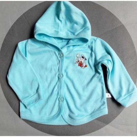 Áo Khoác Màu Có Nón Cho Bé Sơ Sinh ( bé từ sơ sinh đến 3 tuổi)