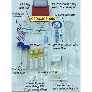 [ HÀNG CÔNG TY XỊN] Bộ kít PRP Pro 12 món chứa pipet và ống 15ml hãng Biologix