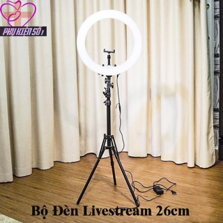 Đèn livertream bán kính 26cm chống chói 3 màu