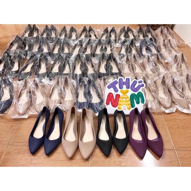 Giày búp bê nữ độn đế 3p Cao su mềm dễ đi from nhỏ tăng 1 sz - 22963103 , 4502979137 , 322_4502979137 , 128000 , Giay-bup-be-nu-don-de-3p-Cao-su-mem-de-di-from-nho-tang-1-sz-322_4502979137 , shopee.vn , Giày búp bê nữ độn đế 3p Cao su mềm dễ đi from nhỏ tăng 1 sz