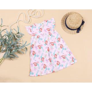 Váy cotton bé gái suông họa tiết 1-10T(10-30kg), chất cotton mềm, mát bé mặc nhà, đi học đi chơi