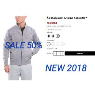 [MỚI NHẤT 2018-GIÁ SHOC] áo khoác aristino 725k