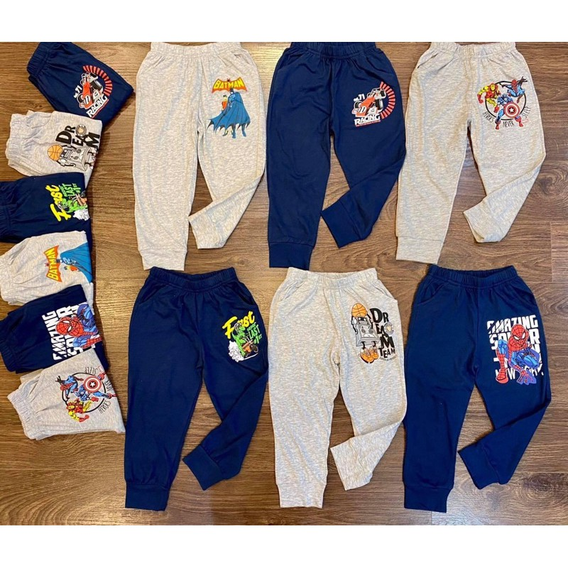 quần cotton dài thu đông cho bé trai