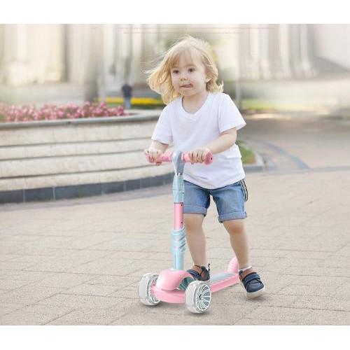 Xe trượt scooter 3.1 loại mới kèm ghế và giỏ xe