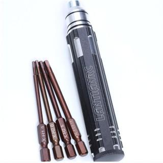 Bộ Tool Lục Giác 4 Trong 1 Đầu 1.5mm 2mm 2.5mm 3mm