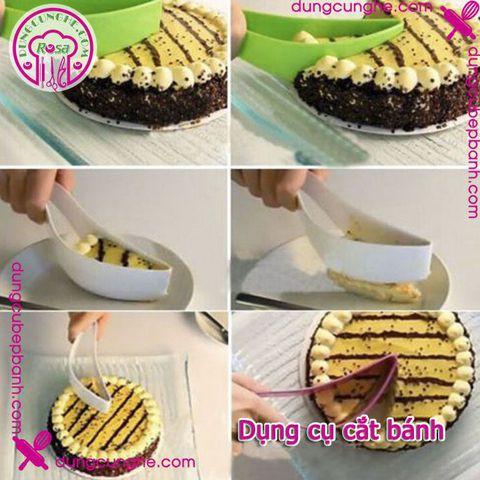 Dụng cụ cắt bánh kem - Cake knife