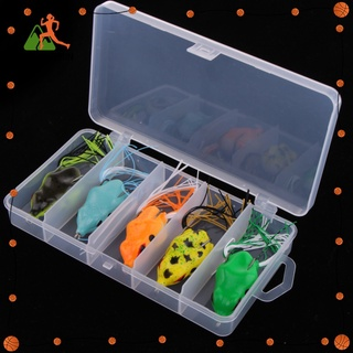 [BuyMoreFun] 5pcs Soft Frog Fishing Lure Bass Snakehead Bait for Jigging Casting Tackle