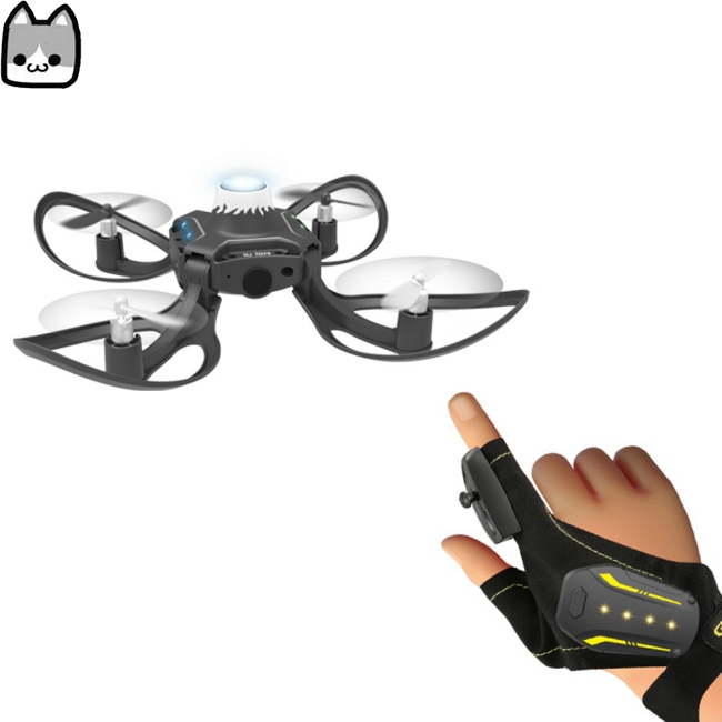 Gesture Induction Drone Folding Quadcopter Somatosensory Control Remote Control Aircraft