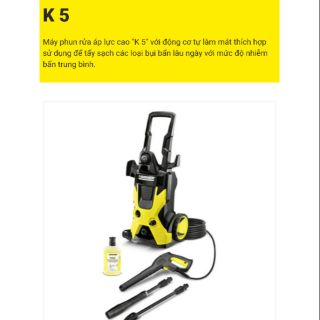 K5 – Máy phun xịt áp lực cao Karcher