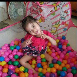 Lều bóng tặng kèm 100 bóng cho bé yêu