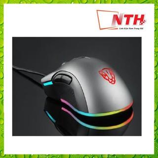 [Mã 159ELSALE hoàn 7% đơn 300K] CHUỘT MOTOSPEED V70 (PW3325) NEW RGB Gaming mouse có LED thay đổi theo DPI xám thumbnail