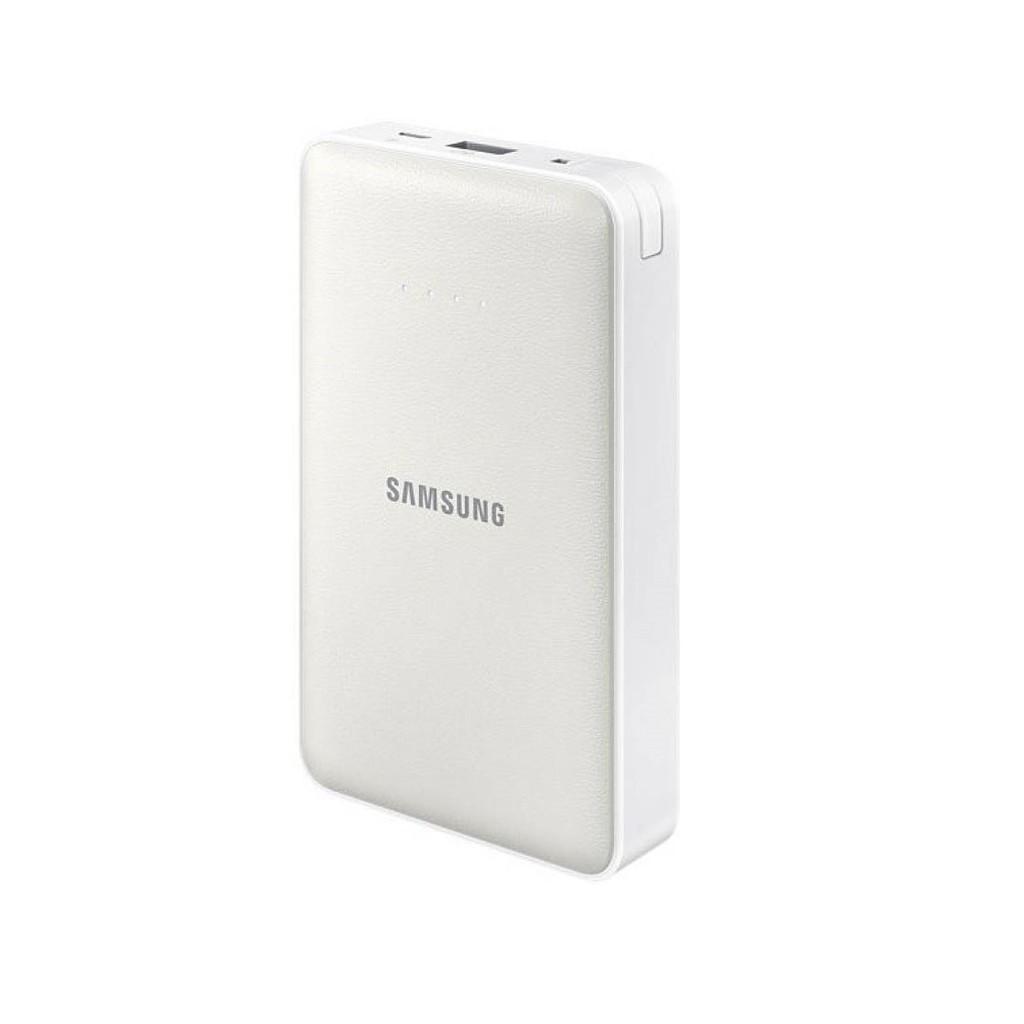 Sạc dự phòng Samsung 11300mah ( trắng bạc )