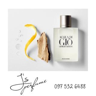 [Mẫu thử] Nước hoa nam Giorgio Armani Acqua Di Giò Pour Homme (Giò trắng) chai nhỏ thumbnail