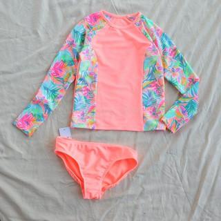 Bộ bơi dài tay cho bé gái 4 - 16 tuổi [ẢNH THẬT] bộ đồ bơi dài tay Hàn Quốc siêu đẹp thumbnail