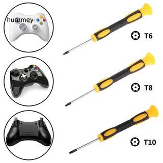 HU T6 T8 T10 Game Screwdriver Repair Tool for Nintendo Xbox 360 PS3 PS4 Controller thumbnail