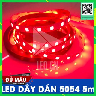 LED Dây Dán 5054 5m 12V – Đủ Màu – Siêu Sáng – Siêu Bền