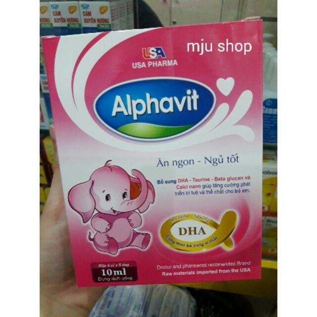 Combo 5 hộp alphavit ăn ngon ngủ tốt