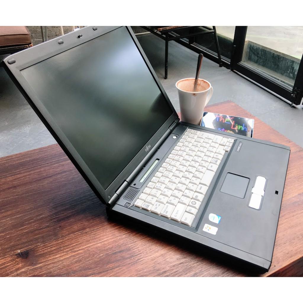 Laptop Fujitsu 15 inch C8240 hàng Nhật giá rẻ