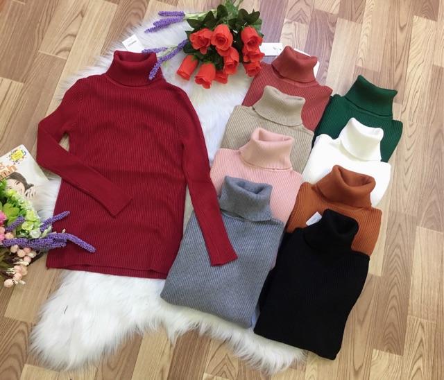 BÁN SỈ áo len cổ lọ dư xịn cho nữ | SaleOff247