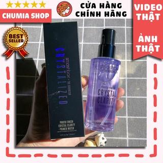 Xịt khóa makeup, xịt khoá trang điểm SMASHBOX Crystalized Photo Finish Primer Water (116ml) - chumia thumbnail