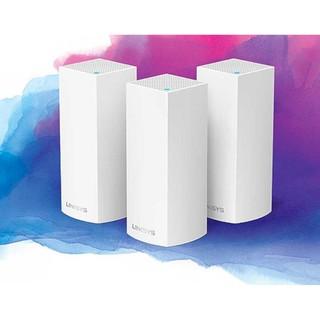 Bộ phát Wifi Linksys Velop WHW0303 Mesh 3 băng tần 3-Pack AC6600Mbps MU-MIMO (Hàng chính Hãng)