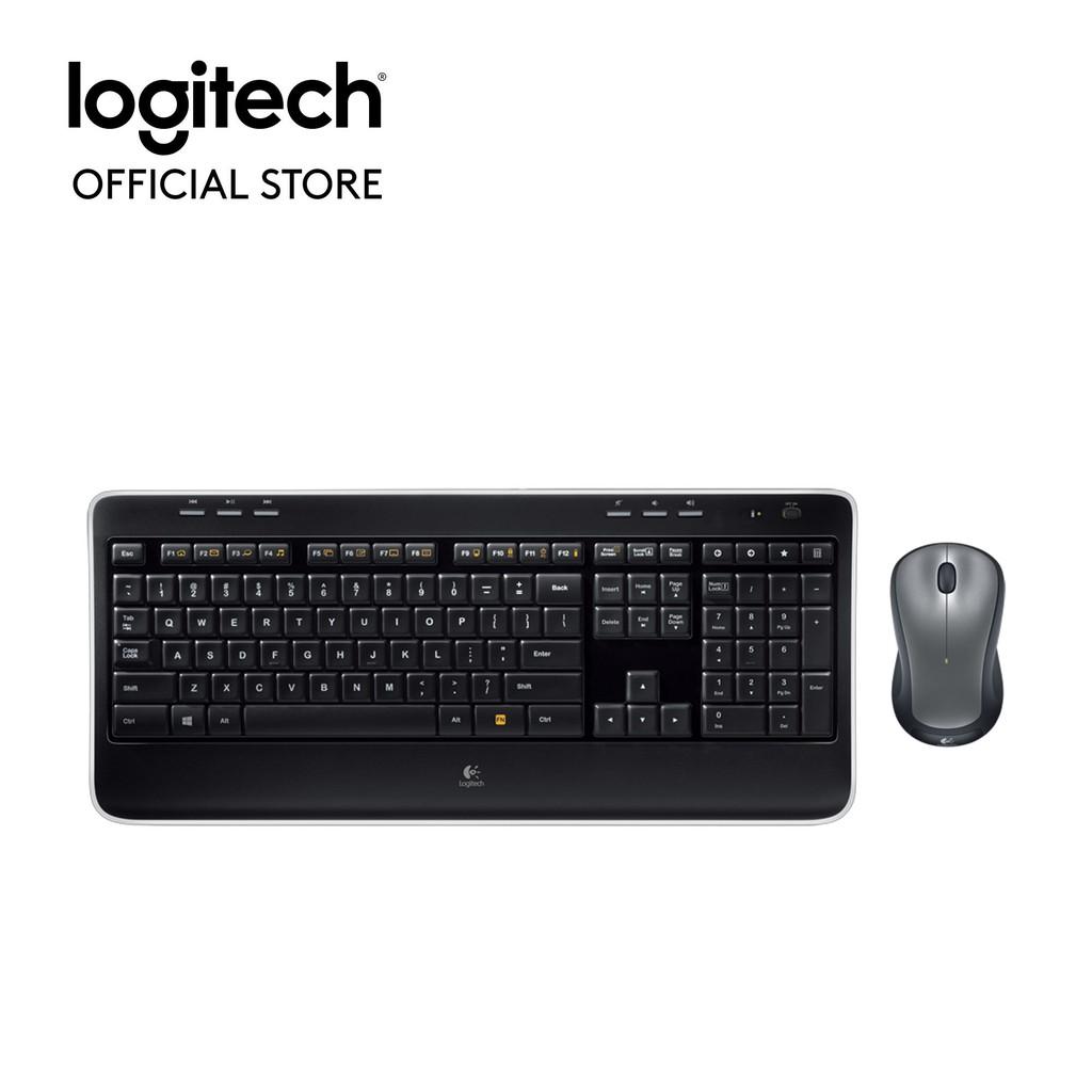 Bộ bàn phím và chuột không dây Logitech MK520r - Hãng phân phối chính thức