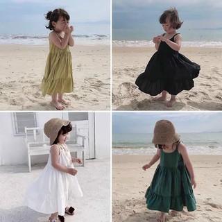 1 váy voan 2 dây cho bé NHỎ