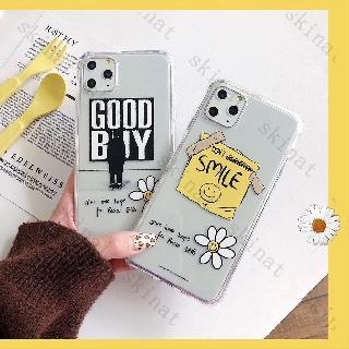 Ốp Điện Thoại Mềm Trong Suốt In Hình Hoa Cúc Hàn Quốc Cho Iphone 11 Pro Xs Max Xr I 8 I 7 Plus