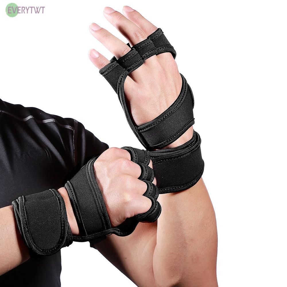 Găng tay tập gym có thể điều chỉnh đa chức năng tiện dụng
