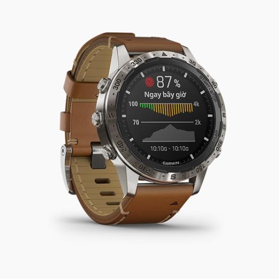 Đồng hồ thông minh Garmin MARQ, Adventurer, Thiết bị đeo thông minh GPS, SEA - Hàng Chính Hãng