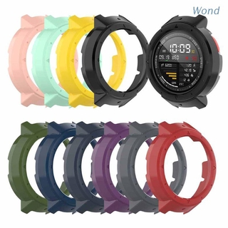 Wond Anti-Scratch Protective Case Cover Protector Frame Shell Replacement for Huami 3 Amazfit Verge Smart Watch Accessories