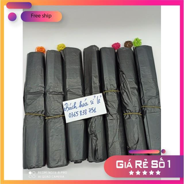 [SỈ/LẺ GIÁ TỐT] Túi Nilong Đen Không Quai Đựng Rác Siêu Dai Loại Cuộn Túi Cỡ 10kg